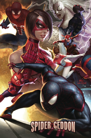 Spider-Geddon #0 (In-Hyuk Lee Connecting Cover)