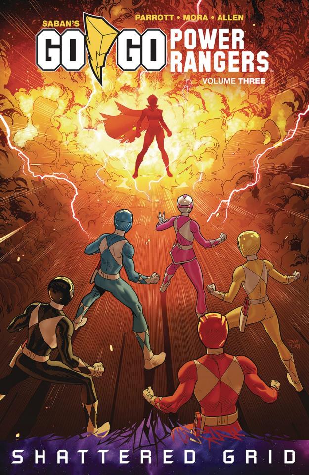 Go, Go, Power Rangers! Vol. 3