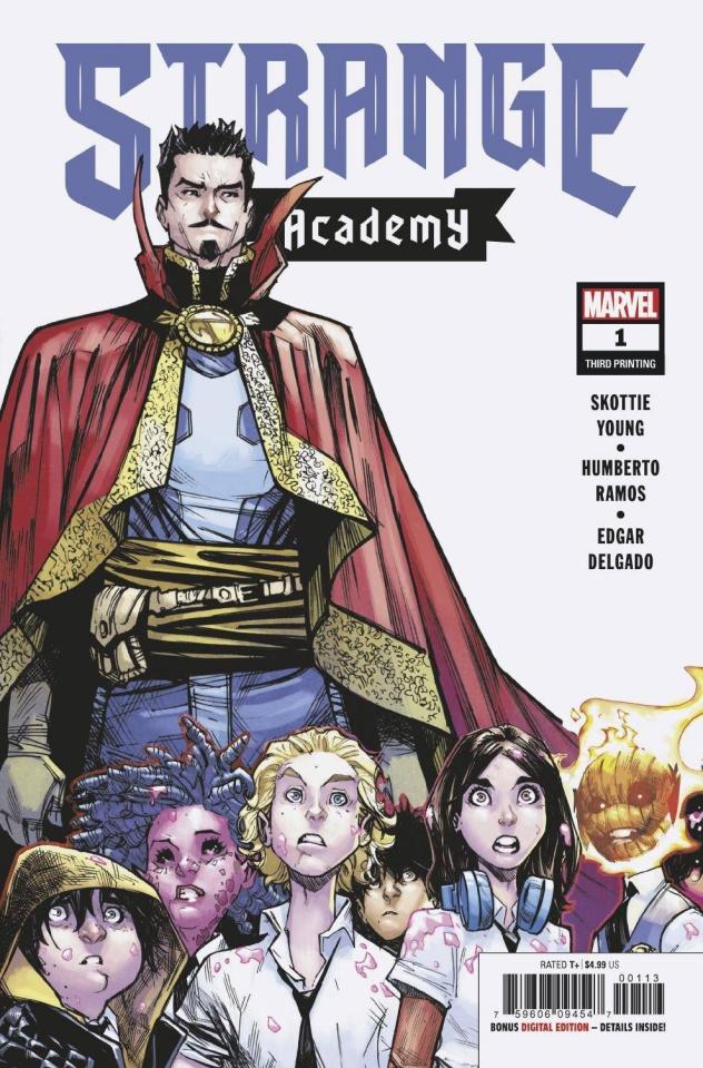 Strange Academy #1 (Ramos 3rd Printing)