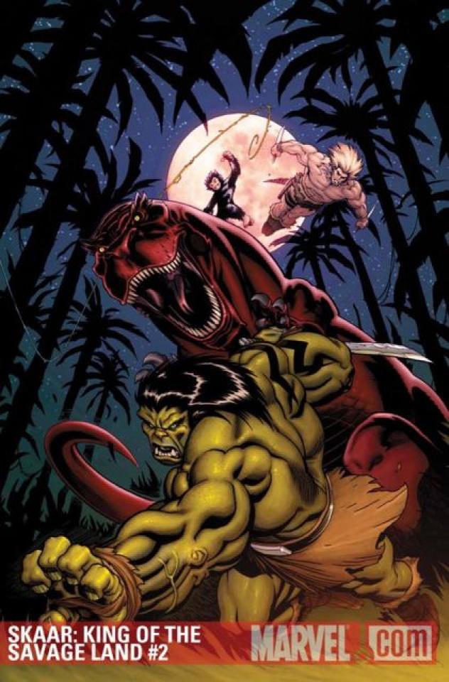 Skaar: King of the Savage Land #2