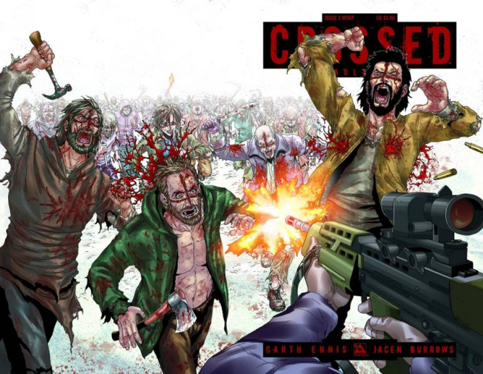 Crossed: Badlands #3 (Wrap Cover)