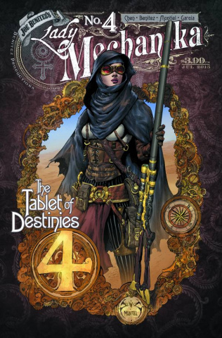 Lady Mechanika: The Tablet of Destinies #4