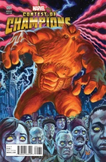 Contest of Champions #1 (Brereton Kirby Monster Cover)