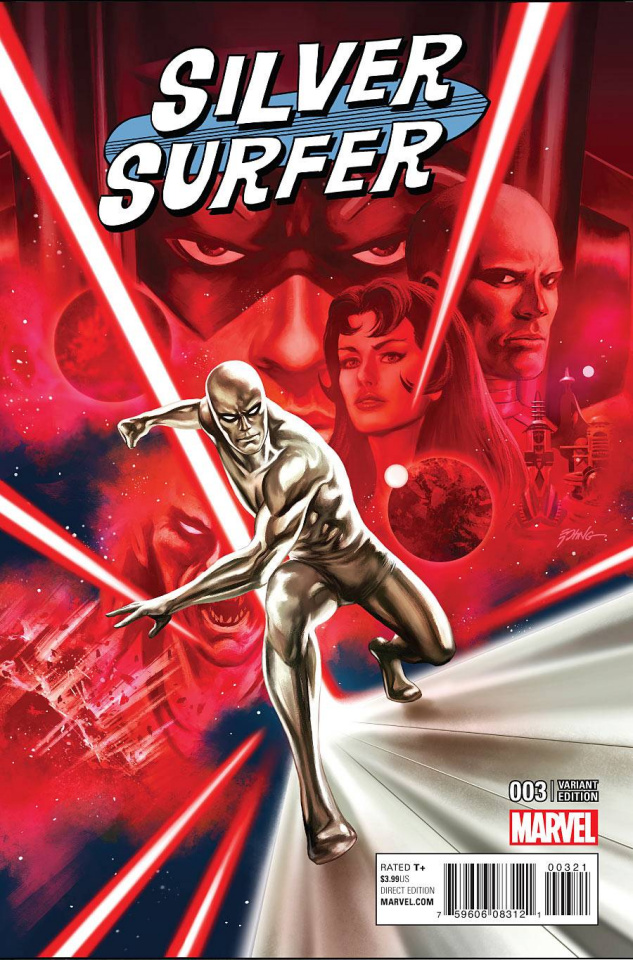 Silver Surfer #3 (Epting Cover)