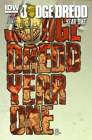 Judge Dredd: Year One #4 (25 Copy Cover)