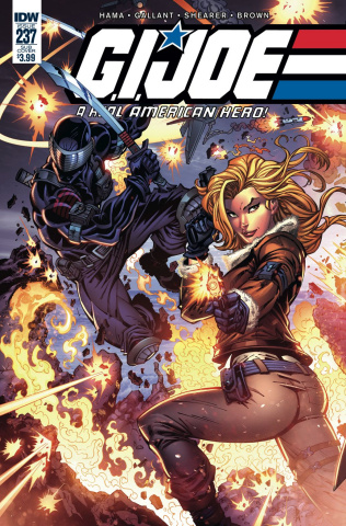 G.I. Joe: A Real American Hero #237 (Subscription Cover)