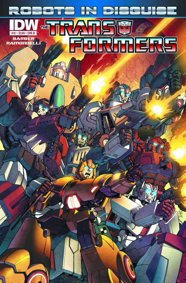 The Transformers: Robots in Disguise #12