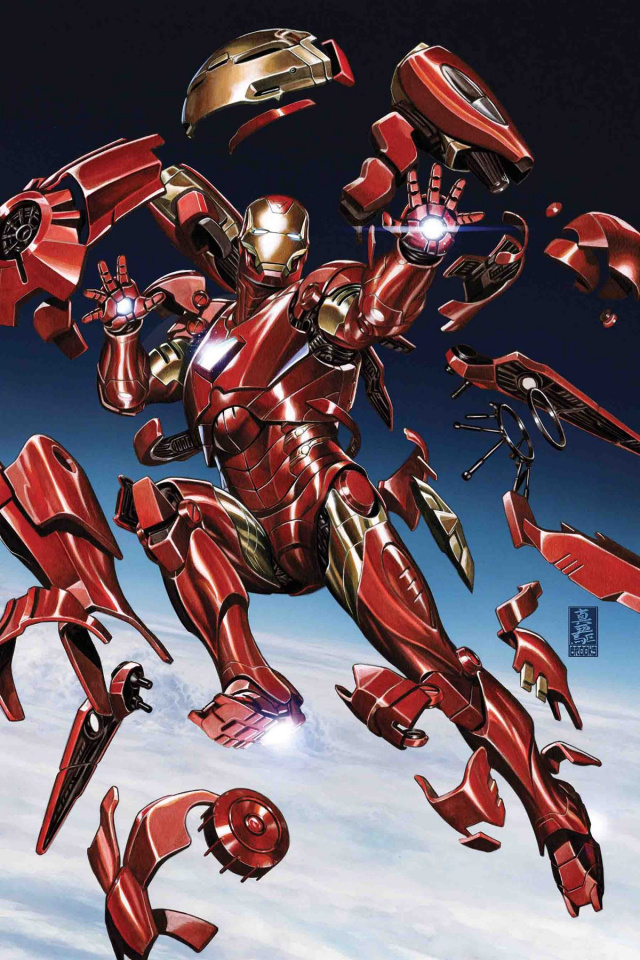 Tony Stark: Iron Man #2 (Brooks Cover)