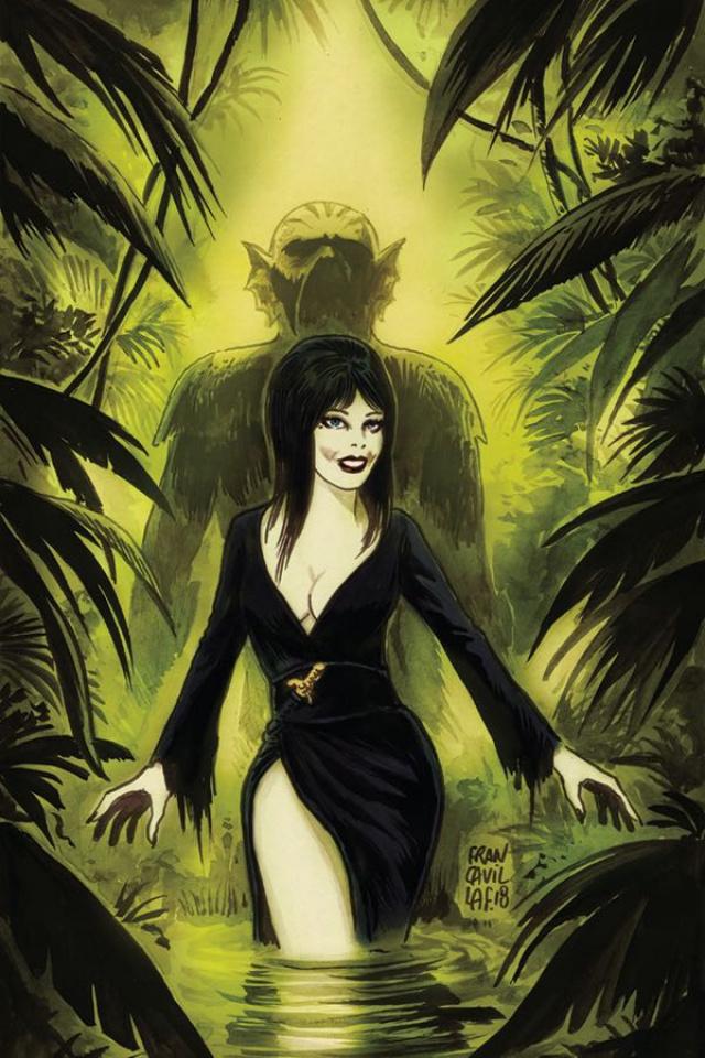 The Shape of Elvira #3 (10 Copy Francavilla Virgin Cover)