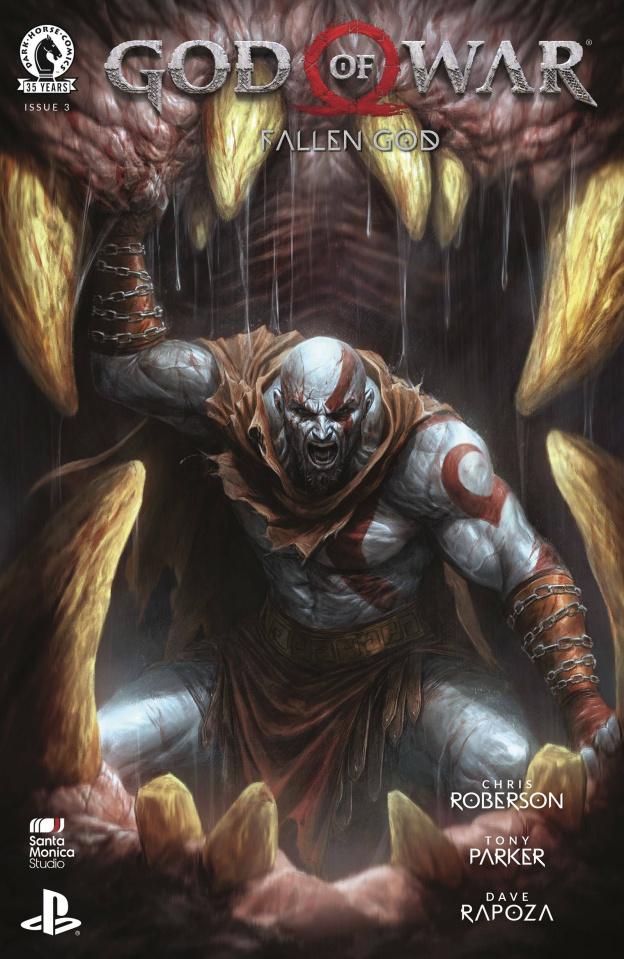 God of War: Fallen God #3