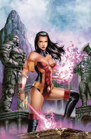 Grimm Fairy Tales #26 (Vigonte Cover)