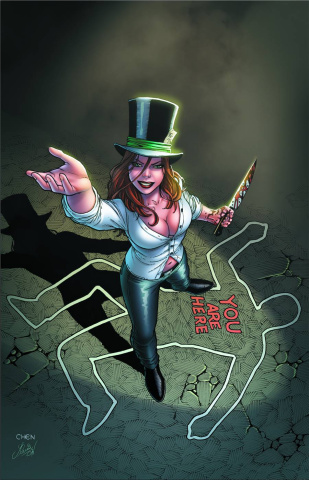 Grimm Fairy Tales: The Madness of Wonderland #2 (Chen Cover)