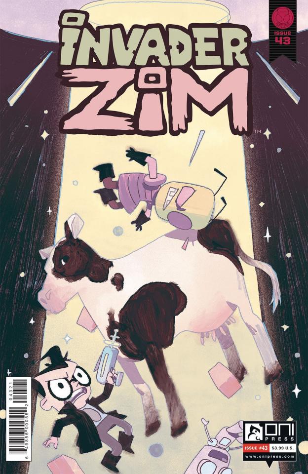 Invader Zim #43 (Smart Cover)