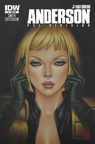 Judge Dredd: Anderson - Psi-Division #1 (Subscription Cover)