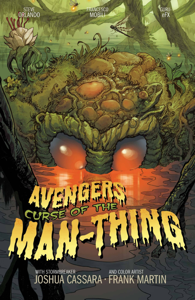 Avengers: Curse of the Man-Thing #1 (Cassara Stormbreakers Cover)