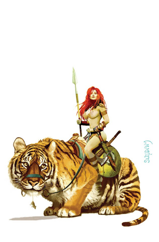 Red Sonja: The Price of Blood #3 (Suydam Virgin Cover)