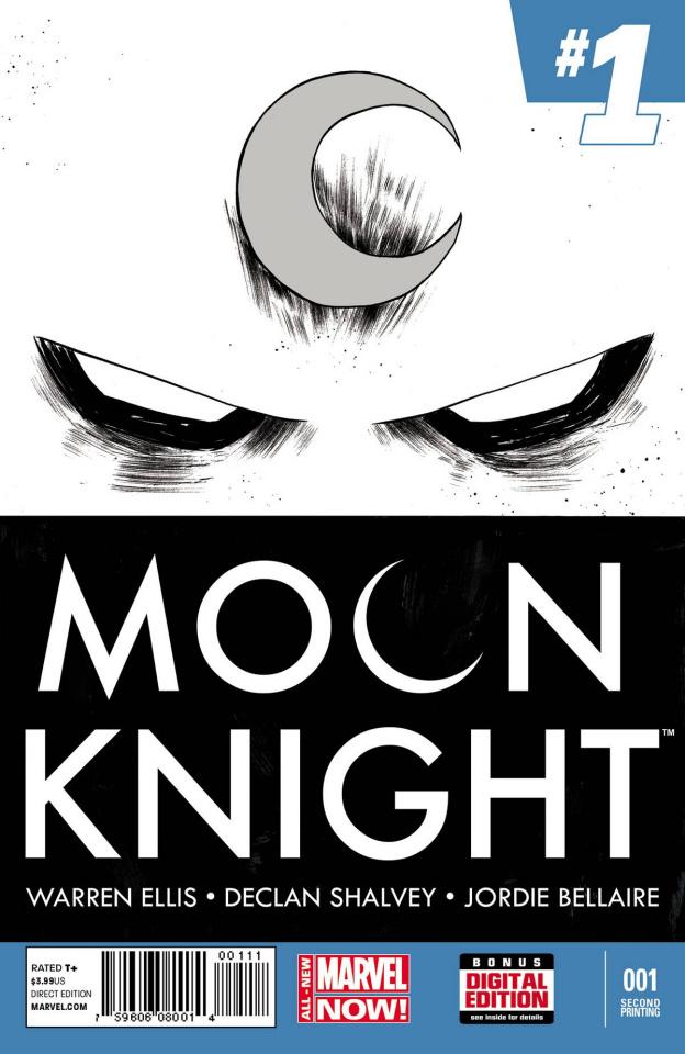 Moon Knight #1 (2nd Printing)
