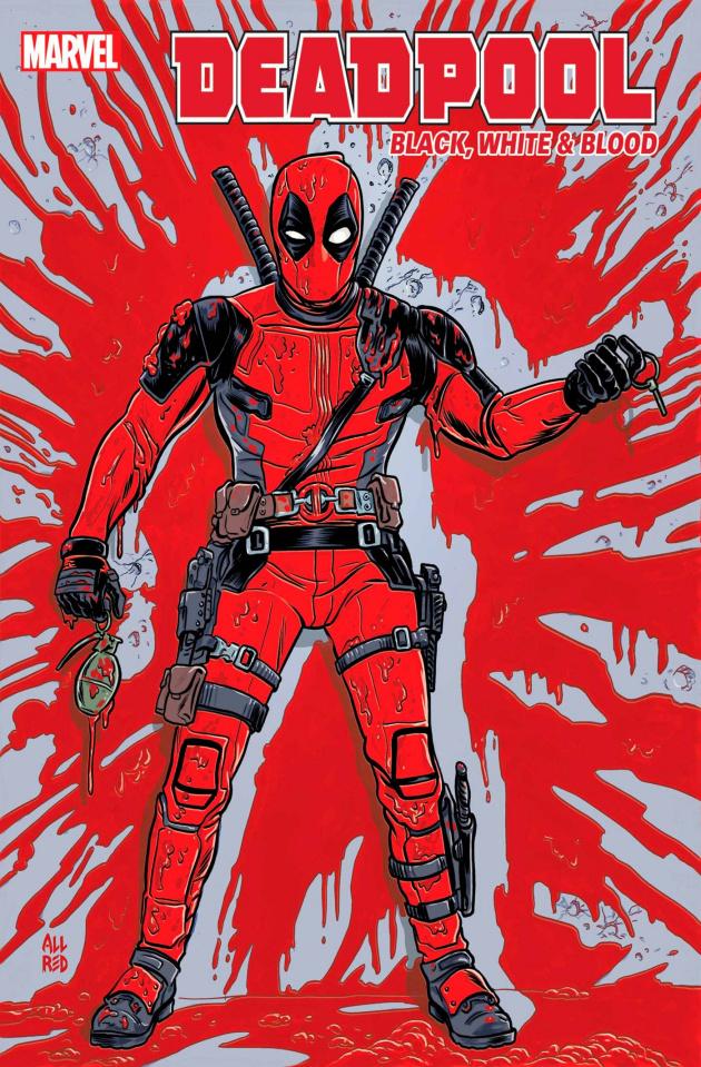 Deadpool: Black, White & Blood #4 (Allred Cover)