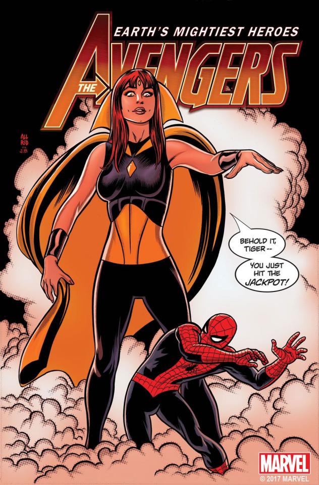 Avengers #8 (Allred Mary Jane Cover)