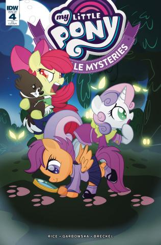 My Little Pony: Ponyville Mysteries #4 (10 Copy Forstner Cover)