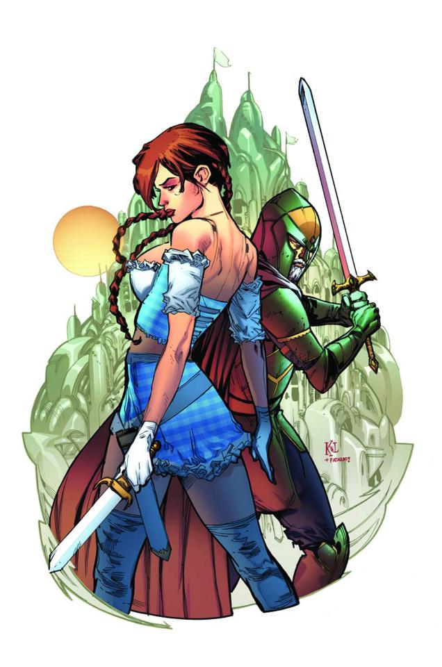 Grimm Fairy Tales: Oz #5 (Lashley Cover)