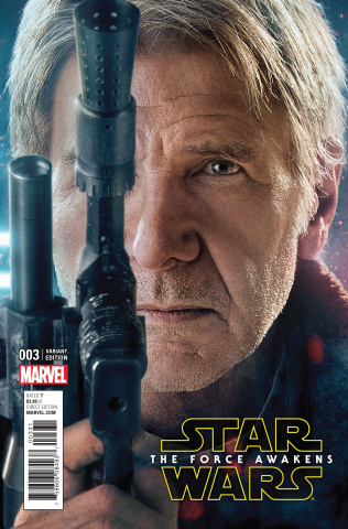 Star Wars: The Force Awakens #3 (Movie Cover)