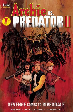 Archie vs. Predator II #1 (Hack Cover)