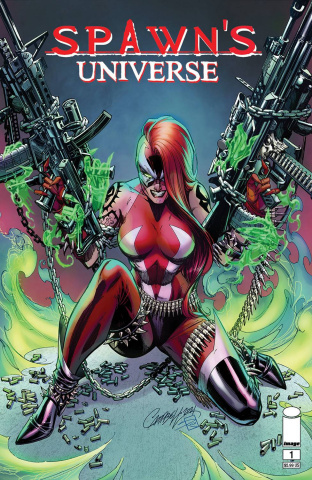 Spawn's Universe #1 (Campbell Cover)