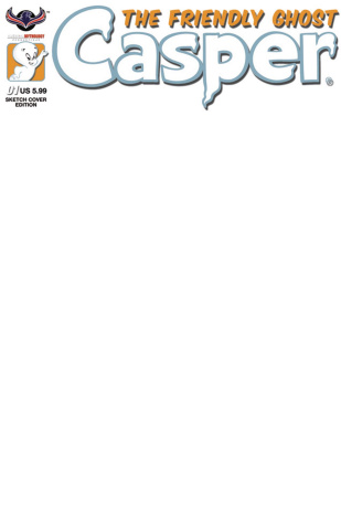 Casper, The Friendly Ghost #1 (Blank Cover)