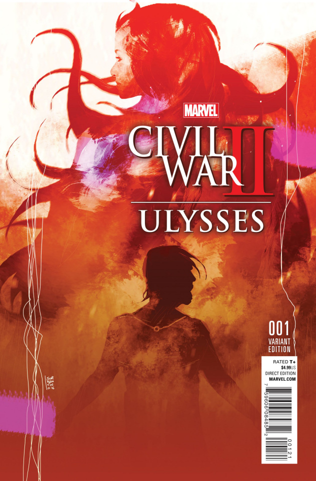 Civil War II: Ulysses #1 (Variant Cover)