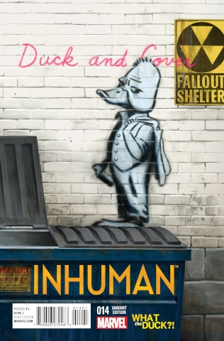 Inhuman #14 (WTD Cover)