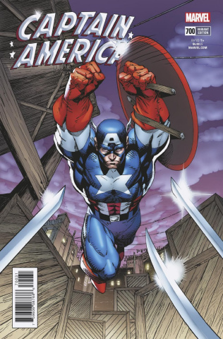 Captain America #700 (Jim Lee Remastered Cover)