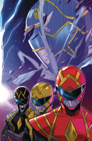 Go, Go, Power Rangers! #32 (Carlini Connecting Cover)