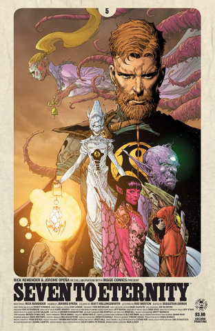 Seven to Eternity #5 (2nd Printing)