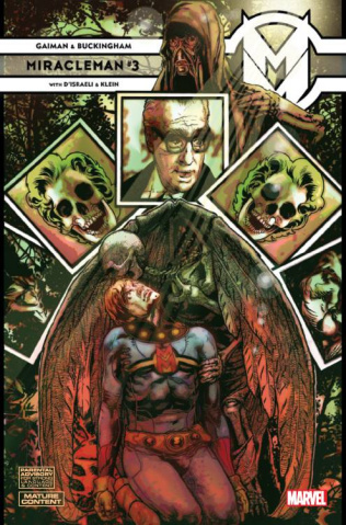 Miracleman by Gaiman and Buckingham #3 (Harris Cover)