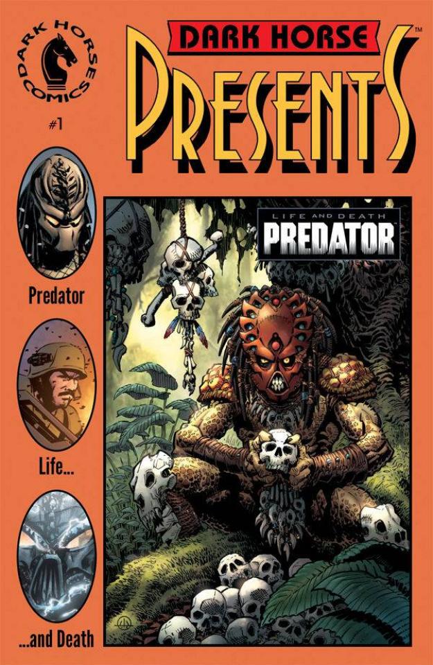 Predator: Life and Death #1 (30th Anniversary Warner Cover)