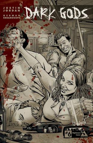Dark Gods #6 (Nightmare Retailer Cover)
