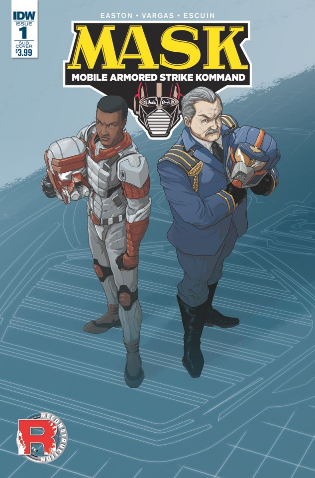 M.A.S.K.: Mobile Armored Strike Kommand #1 (Subscription Cover)