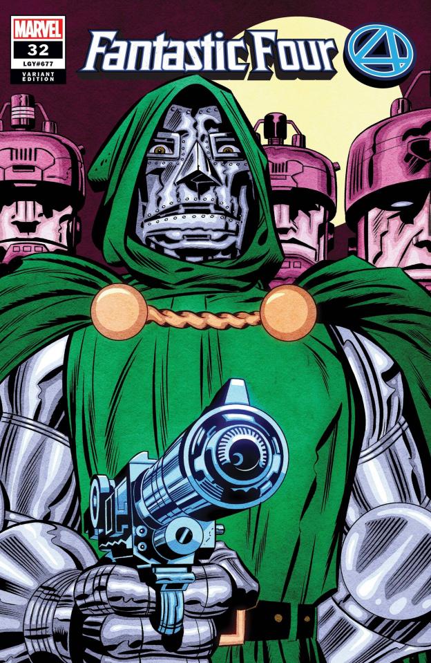 Fantastic Four #32 (Kirby Hidden Gem Cover)