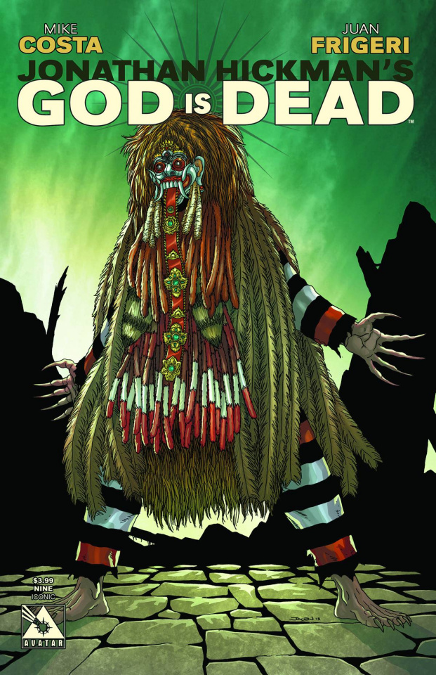 God Is Dead #9 (Iconic Cover)