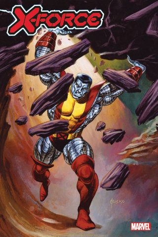 X-Force #24 (Jusko Marvel Masterpieces Cover)