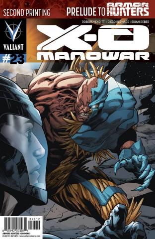 X-O Manowar #23 (2nd Printing)
