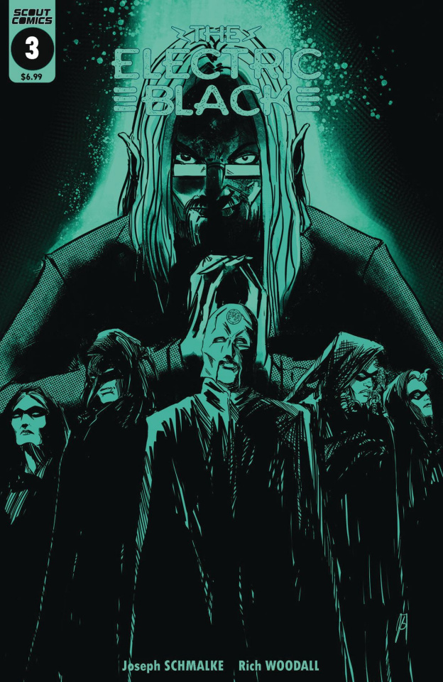 The Electric Black #3 (Glow in Dark Cover)