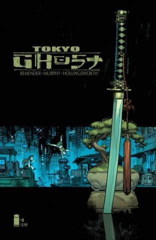 Tokyo Ghost #2 (Murphy Cover)