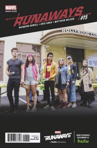 Runaways #15 (TV Cover)