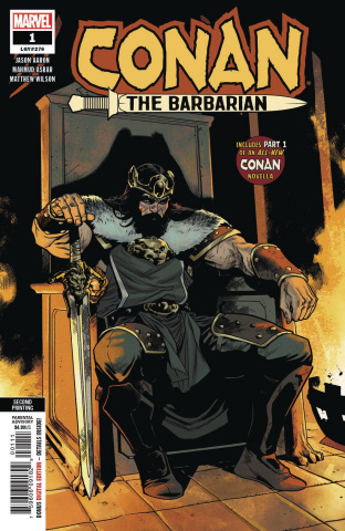Conan the Barbarian #1 (Asrar 2nd Printing)