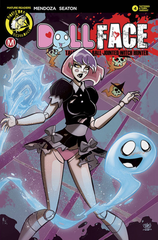 Dollface #4 (Pin Up Tattered & Torn Cover)