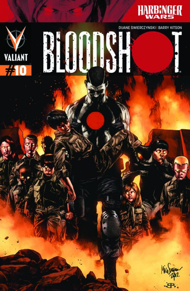Bloodshot #10 (Suayan Cover)