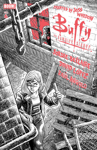 Buffy the Vampire Slayer #6 (25 Copy Young Cover)