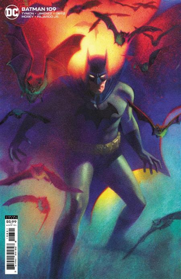 Batman #109 (Joshua Middleton Card Stock Cover)